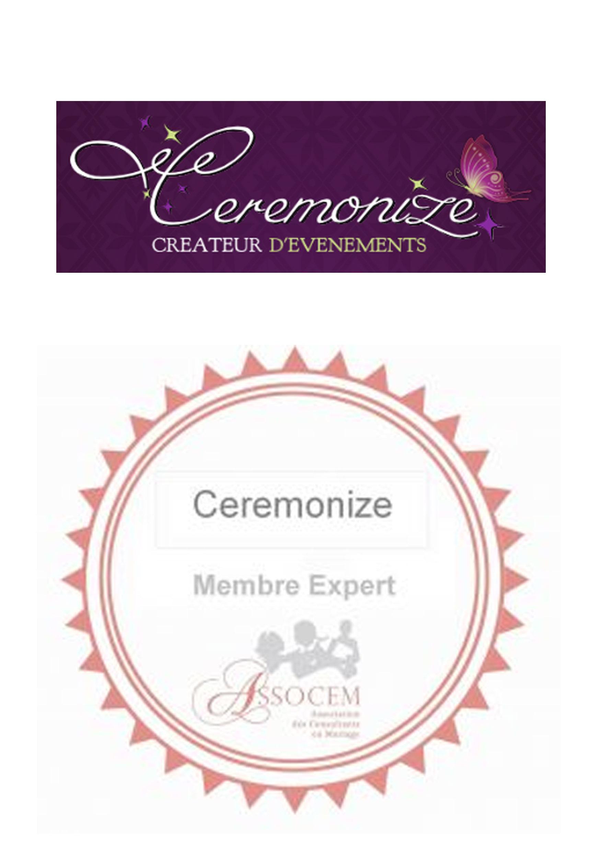 Présentation de l'agence Ceremonize – Membre expert