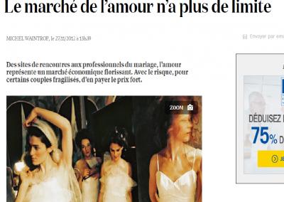 """<a href=""""http://www.la-croix.com/Actualite/France/Le-marche-de-l-amour-n-a-plus-de-limite-_EP_-2012-11-27-880790"""" target=""""_blank"""">La croix - Novembre 12 </a>"""
