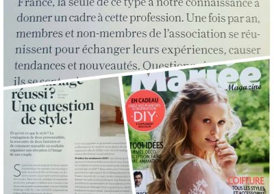 <a>Mariée Magazine - Novembre 16 </a>