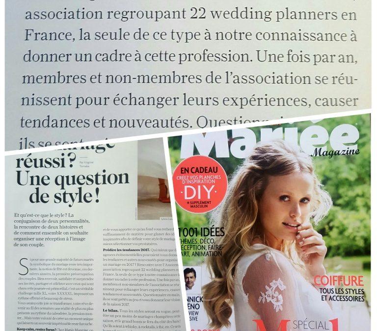 Mariée Magazine soutient l'Assocem